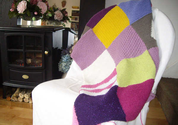 Knit Your Own Vintage Blanket