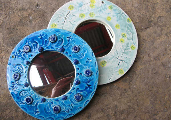 Make a Ceramic Mirror